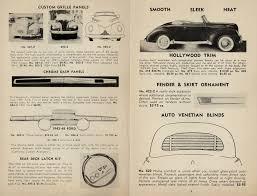 Car Venetian Blinds For Sale 1951 Eastern Auto Custom Car Chroniclecustom Car Chronicle