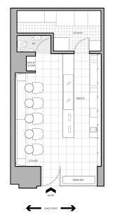 layout denah cafe small cafe new york floor plan jpg 588 1099 pinteres