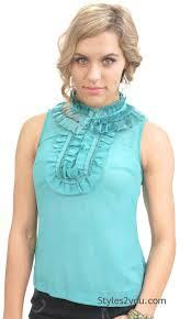 blouse ruffles zeek dress blouse with ruffles aggie clothing dress blouse