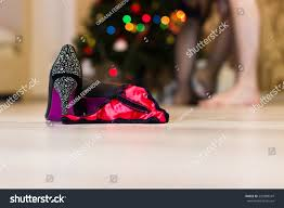 after christmas party quick stock photo 530988547
