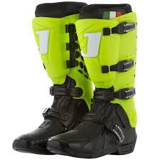 jett motocross boots bota jett hi vis preto verde neon skate shop monster