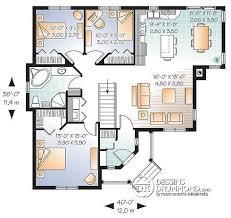plan de maison 100m2 3 chambres plan de maison duplex 3 chambres