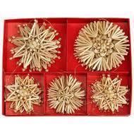 swedish ornaments straw ornaments