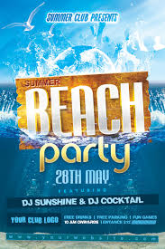 beach party flyer pacq co