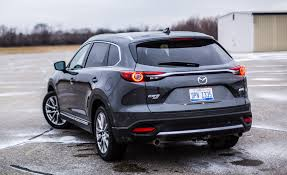 mazda car and driver 2017 mazda cx 9 in depth model review car and driver