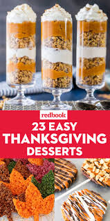 26 easy thanksgiving dessert ideas best thanksgiving