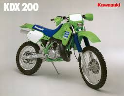 gallery of kawasaki kdx