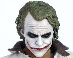 Heath Ledger Joker Halloween Costume Heath Ledger Joker Etsy