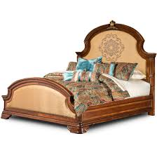 Aico Bed Aico Michael Amini Grand Masterpiece Panel Bedroom Set