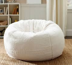 tibetan lambskin bean bag contemporary chairs for white best 25