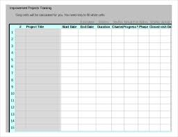 Project Tracking Template For Excel Project Tracking Template 11 Free Word Excel Pdf Documents