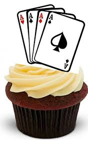 jeux de cuisine de cupcake jeu de cartes à jouer suite d impression de cupcakes comestibles en