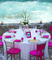 caribbean themed wedding ideas stylish pink wedding reception caribbeanparty partyideas