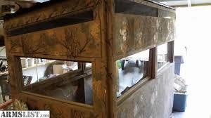 Deer Blind Elevators Armslist For Sale Trade 4x8 Custom Deer Blind