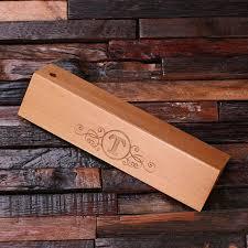 personalized wood desktop pen set engraved and monogrammed