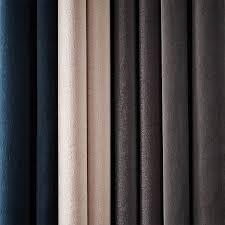 Grommet Curtains Cotton Luster Velvet Curtain Dusty Blush West Elm