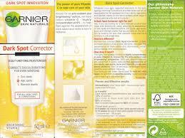 Serum Vitamin C Garnier best spot corrector for in corner garnier spot corrector