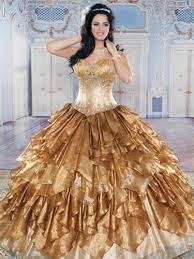 gold quince dresses quinceañera dresses in autumn shades gold and orange gold