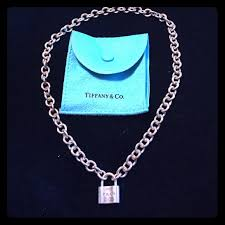 lock choker necklace images Tiffany co jewelry authentic tiffany co lock choker necklace jpg