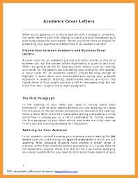 9 academic cover letter resume pdf