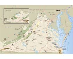 Alexandria Va Map Maps Of Virginia State Collection Of Detailed Maps Of Virginia