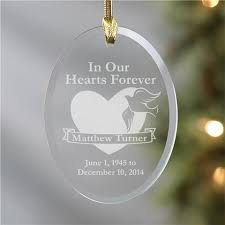 memorial christmas ornaments personalized memorial christmas ornaments