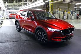 mazda crossover mazda starts production of all new mazda cx 5 inside mazda
