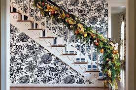 Banister Decorations For Christmas 23 Gorgeous Christmas Staircase Decorating Ideas