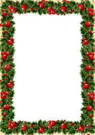 transparent christmas photo frame with mistletoe keret