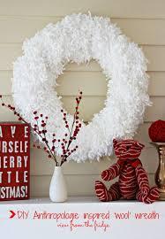 anthropologie inspired u0027wool u0027 wreath anthropologie wreaths and
