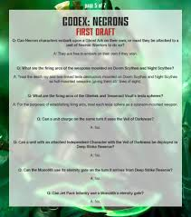 breaking new 40k necron faq bell of lost souls