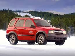 chevrolet tracker specs 1999 2000 2001 2002 2003 2004