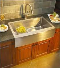 Stainless Steel Apron Front Kitchen Sinks Stainless Steel Farmhouse Style Kitchen Sinks From Kindred This