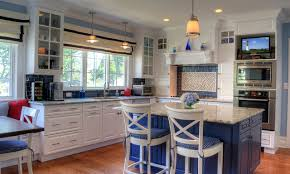 coastal kitchen ideas a coastal kitchen in montclair traditional kitchen newark