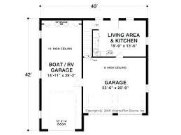 16 40 rv garage floor plancustom house plan barn plans u2013 venidami us
