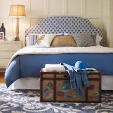 Blue Upholstered Headboard Blue Headboard Queen Designs And Navy Upholstered Photos Of Padded
