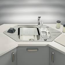 Sinks Delightful Kitchen Corner Sinks Kitchen Incredible Corner - Corner sink for kitchen