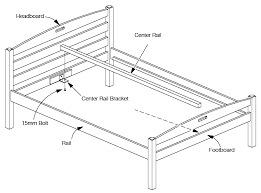Assembling A Bed Frame Assembly Of Size Sesame Bed How To Assemble
