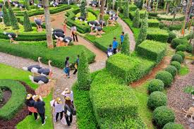 Most Beautiful Gardens In The World by The Most Beautiful Garden In The World Nong Nooch Tropical