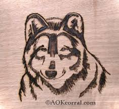 Simple Wood Burning Patterns Free by Wolf Patterns Woodburning Painting Crafts