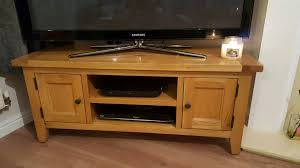 Tv Bench Oak Oak Furniture Oak Tv Bench In Stoke On Trent Staffordshire