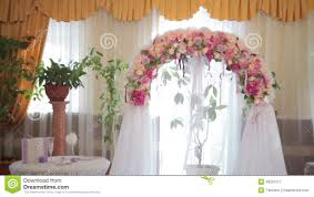 wedding arches indoor wedding arch with flowers indoor stock of marriage