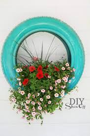 diy tire planter tutorialdiy show off u2013 diy decorating and home