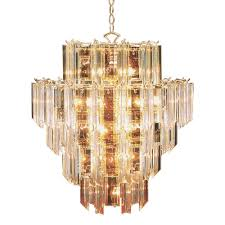Acrylic Crystal Chandelier Drops by Bel Air Lighting Stewart 16 Light Bronze Chandelier With Beveled