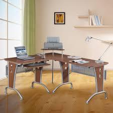 office nice salt oak large l shaped desk for computer versatile