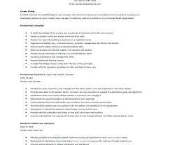 sample resume for nurse manager position business administrator
