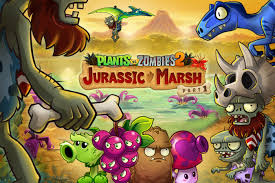 plants vs zombies 2 fall update adds new dinosaurs gamespot