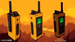 walkie talkie 3d cgtrader