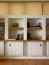 Family Room Storage Cabinets Decor US House And Home Real - Family room storage cabinets