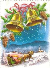 Victorian Christmas Card Designs 516 Best Cards Christmas Bells Images On Pinterest Christmas